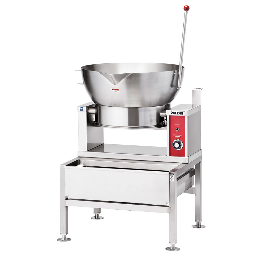 Vulcan-Hart VGCTS16 LP Countertop Braising Pan w/ 16-Gallon Capacity, Pour Lip, LP
