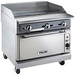 "Vulcan-Hart VGMT36C 36"" Gas Range w/ Griddle Top - Convection Oven, LP"