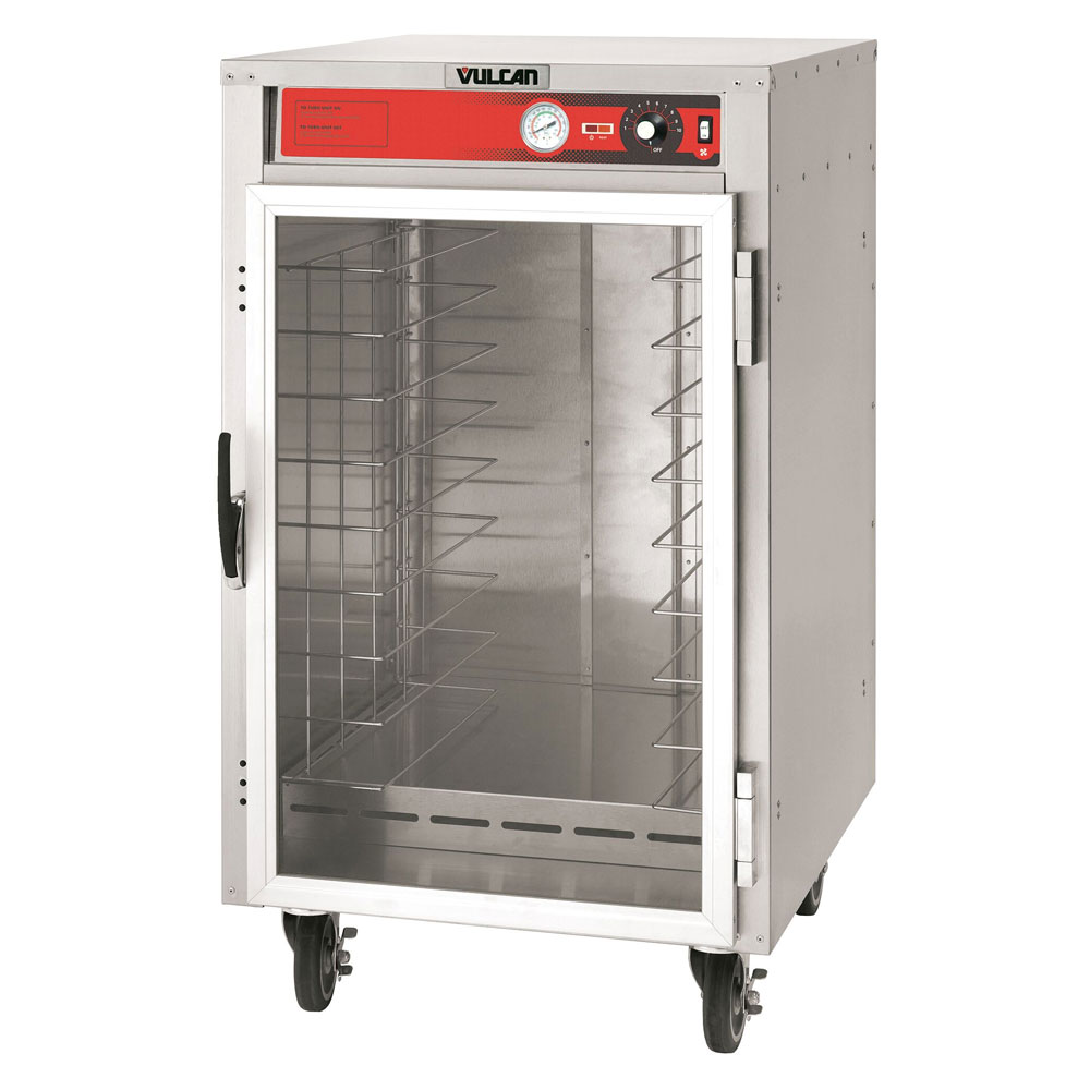 Vulcan VHFA9 1/2-Height Mobile Heated Cabinet w/ (9) Pan Capacity, 120v