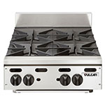"Vulcan-Hart VHP424 24"" Gas Hotplate w/ (4) Burners & Infinite Controls, NG"