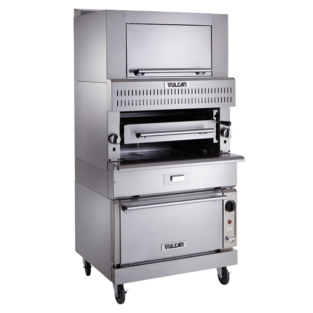 Vulcan-Hart VIR1SF Deck-Broiler w/ Infrared Burners, Standard Oven, LP