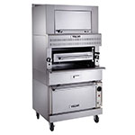 Vulcan-Hart VIR1SF Deck-Broiler w/ Infrared Burners, Standard Oven, NG