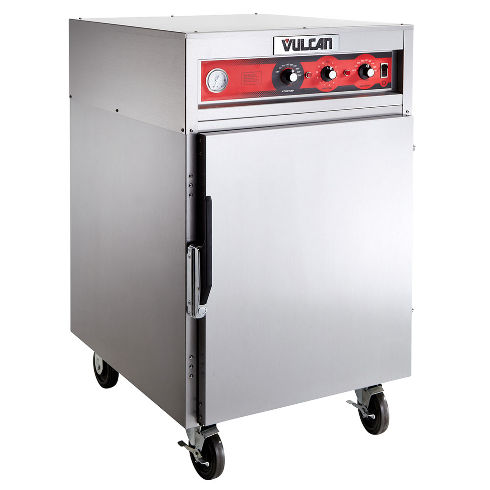 Vulcan VRH8 1/2-Height Mobile Heated Cabinet w/ (8) Pan Capacity, 240v/1ph