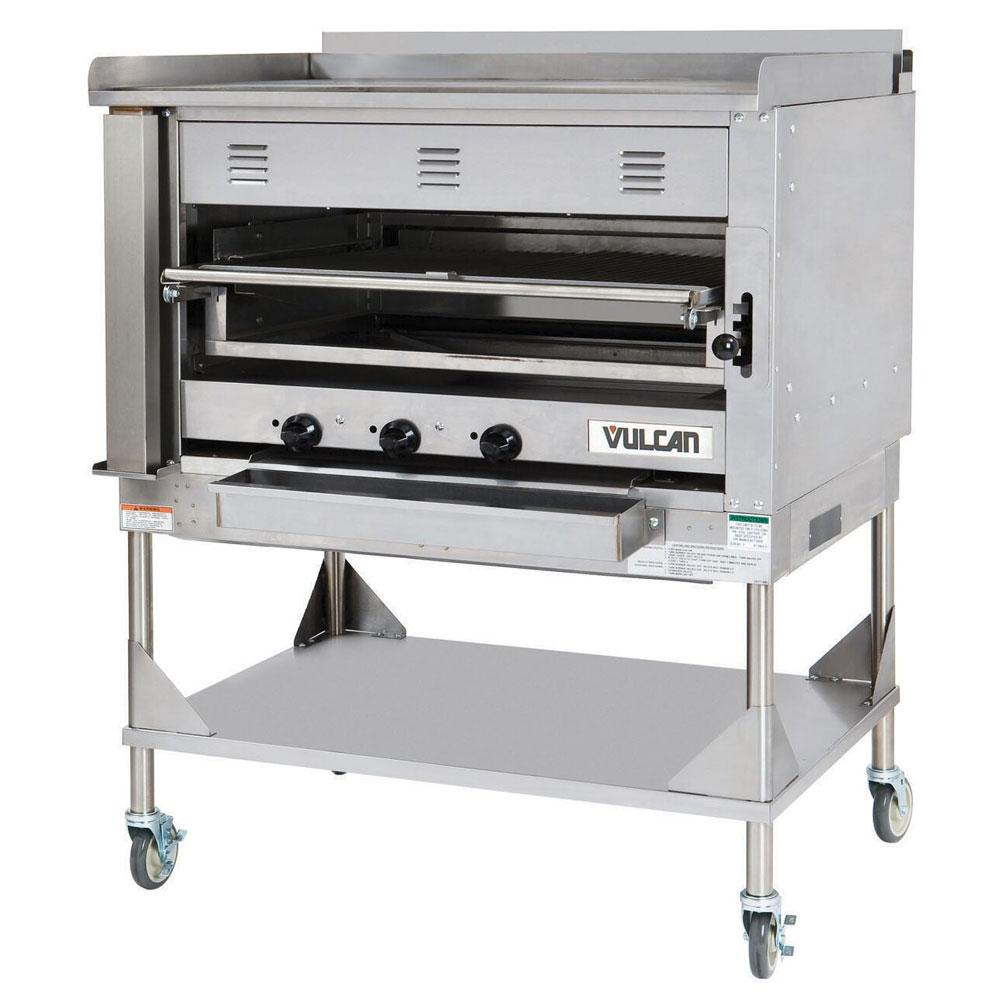 "Vulcan-Hart VST4B 45"" Chophouse Broiler w/ Over-Fired Deck, Griddle Plate, LP"