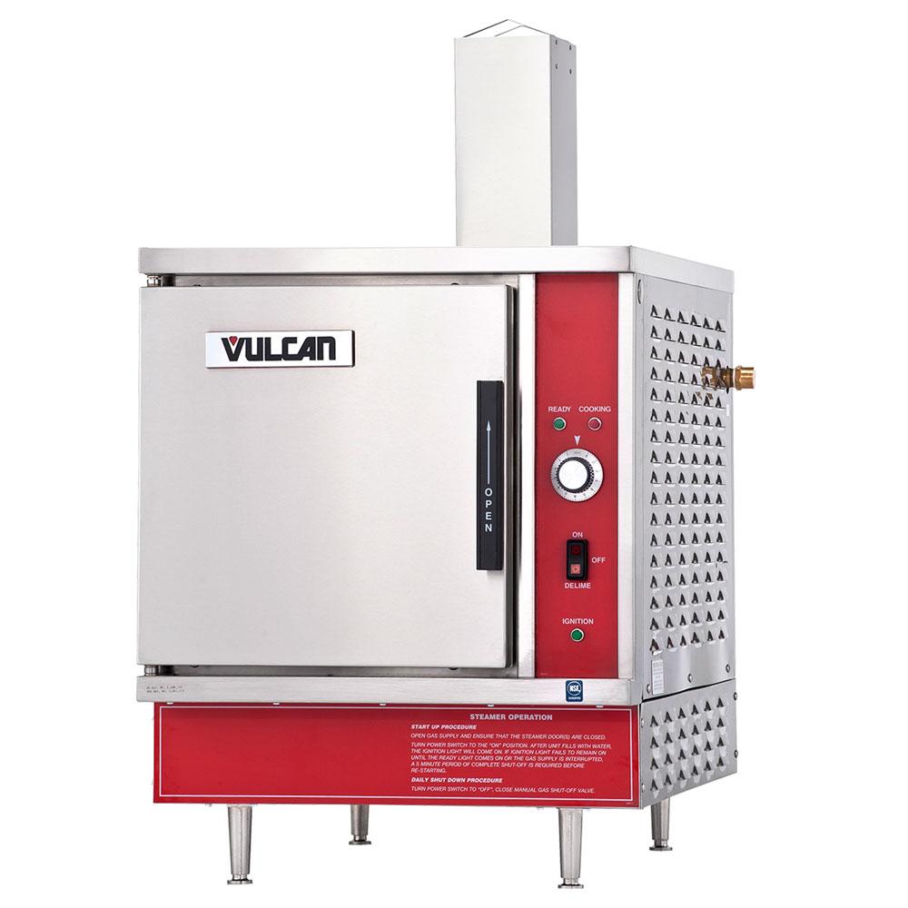 Vulcan-Hart VSX5G Gas Countertop Steamer w/ (5) Full Size Pan Capacity, NG
