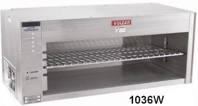 "Vulcan-Hart 1048W 48"" Electric Cheese Melter w/ Infrared Element, Stainless, 240v/1ph"