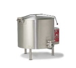 Vulcan-Hart ET150 2403 150-Gallon Stationary Kettle w/ Spring-Assisted Cover, 240/3 V