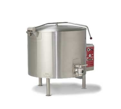 Vulcan-Hart ET100 2403 100-Gallon Stationary Kettle w/ Spring-Assisted Cover, 240/3 V