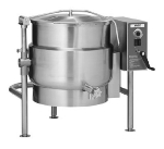 Vulcan K60ELT 60-Gallon Tilting Kettle w/ Manual Tilt, Faucet Bracket, 240/3 V