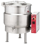 Vulcan K20EL4803 Stationary Kettle w/ 20-Gallon Capacity, Spring Cover, 480/3 V