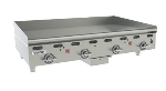 "Vulcan-Hart MSA48NG 48"" Gas Griddle - Thermostatic, 1"" Steel Plate, NG"