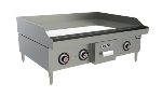 "Vulcan-Hart RRE36D 36"" Electric Griddle - Thermostatic, 3/4"" Steel Plate, 208v/3ph"