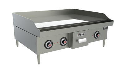 "Vulcan-Hart RRE36D 2081 36"" Electric Griddle - Thermostatic, 3/4"" Steel Plate, 208v/1ph"