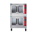 Vulcan-Hart VC66GD Double Deep Depth Gas Convection Oven - NG