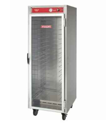 Vulcan-Hart VHFA18 Mobile Heated Cart w/Polycarbonate Door, Holds 18-Pans, 120 V