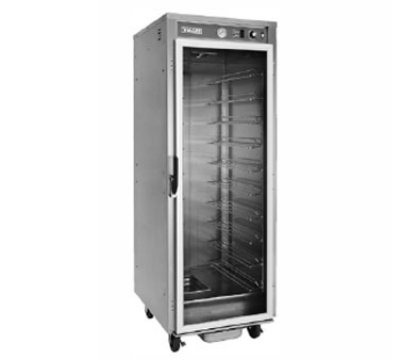 Vulcan-Hart VP18 Full Height Heated Holding & Proofing Cabinet, Clear Door, Adjustable Slides