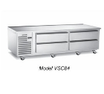 "Vulcan-Hart VSC72 72"" Chef Base w/ (4) Drawers - 115v"