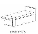 """Vulcan-Hart VWT24 LP 24"""" Heavy Duty Range, Work Top, Modular, LP"""