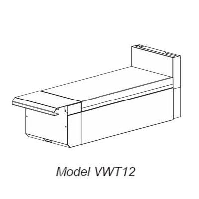 """Vulcan-Hart VWT36 36"""" Heavy Duty Range Work Top, Modular, LP"""