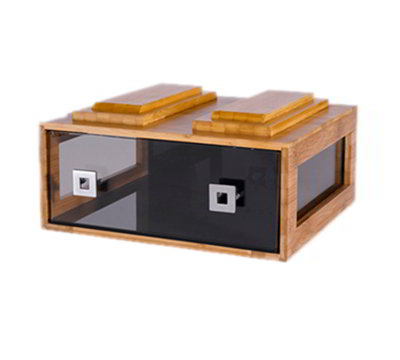 Rosseto BD105 Stackable Bakery Drawer - Bamboo Frame