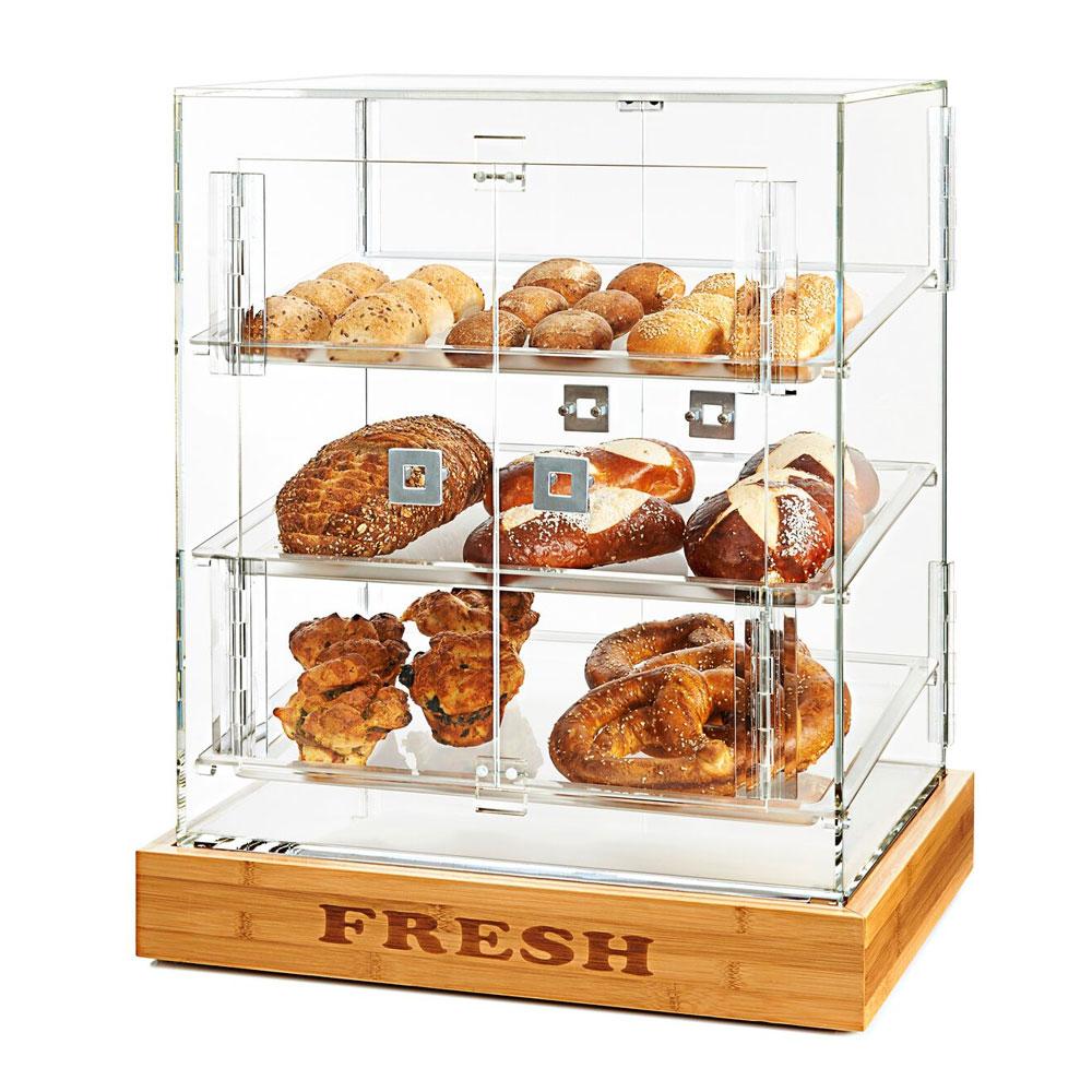 """Rosseto BD127 Bakery Cabinet w/ (4) Doors, 21.5"""" x 17"""" x 25.5"""", Clear Acrylic"""