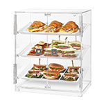 "Rosseto BD129 Countertop Bakery Display Case w/ (3) Tiers, 19.1"" x 12.75"" x 23"", Clear Acrylic"