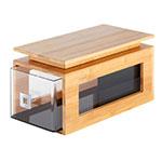 Rosseto BD130 Natura™ Bakery Block Cap for BD106, Bamboo