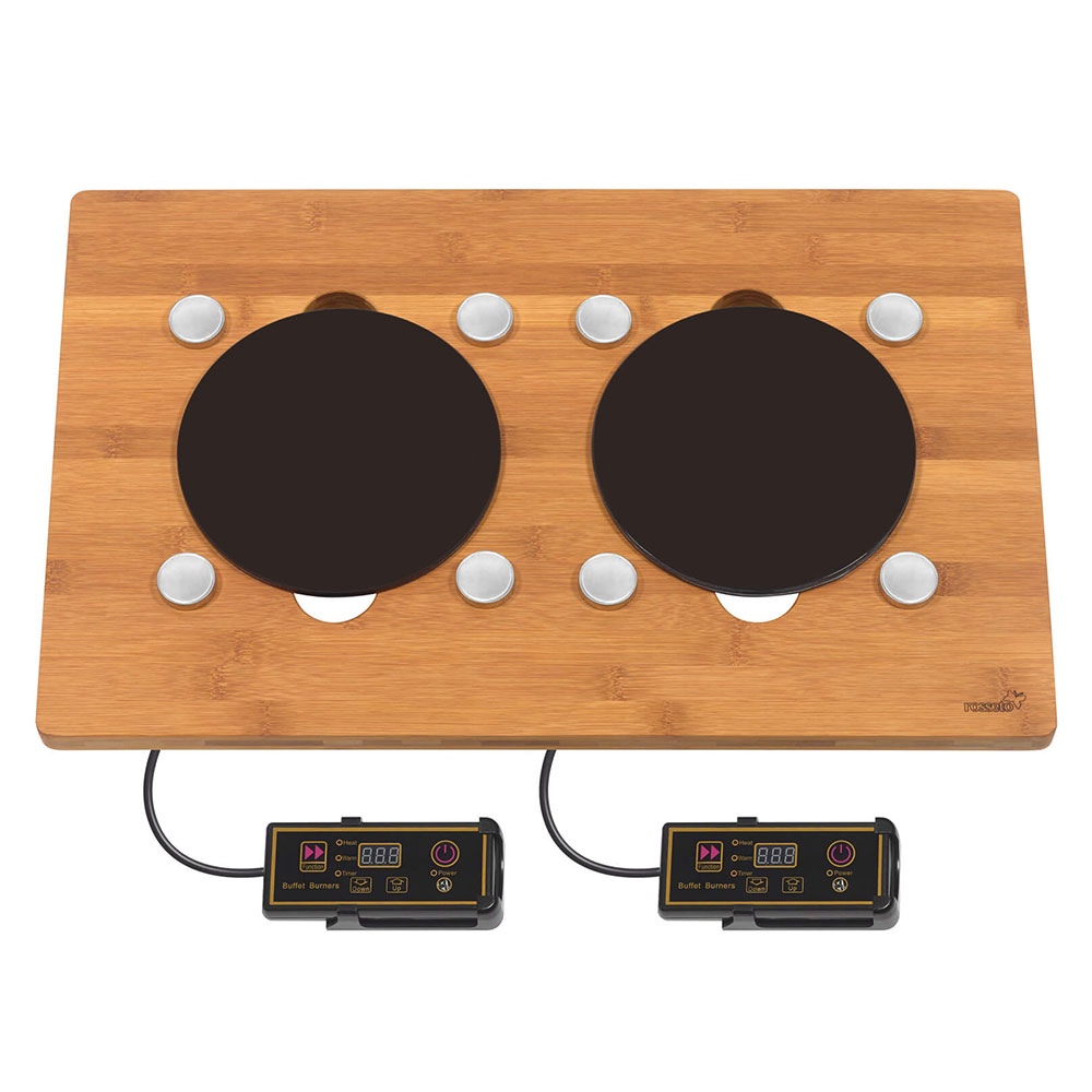 Rosseto BP007 Drop-In Commercial Induction Cooktop w/ (2)...