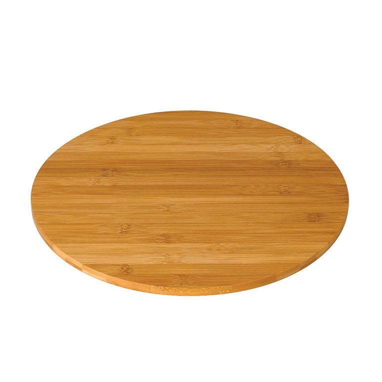 """Rosseto BP500 20"""" Round Display Platter - Bamboo"""