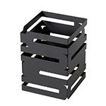 "Rosseto D623RB Multi-Level Square Display Riser - 6x6x8"" Black"