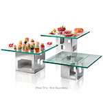 """Rosseto D62977 Square Display Riser - 5-1/2x5-1/2x5-1/2"""" Stainless"""
