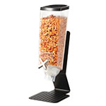 Rosseto EZ50199 1-gal Dry Product Dispenser with Stand - Clear/Black