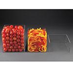 Rosseto FBDC091 3-Piece Cubisers Set - 2 Cubes, 1 Riser, Acrylic, Clear