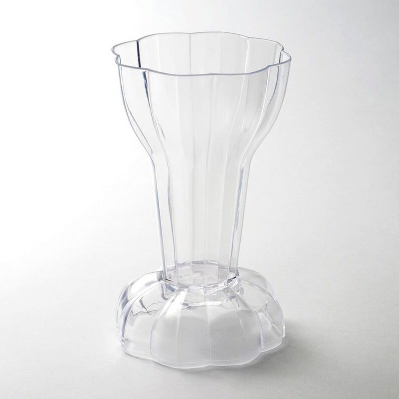 Rosseto Serving Solutions L12400 6-oz Dolce Cup with Lid - Polystyrene, Clear