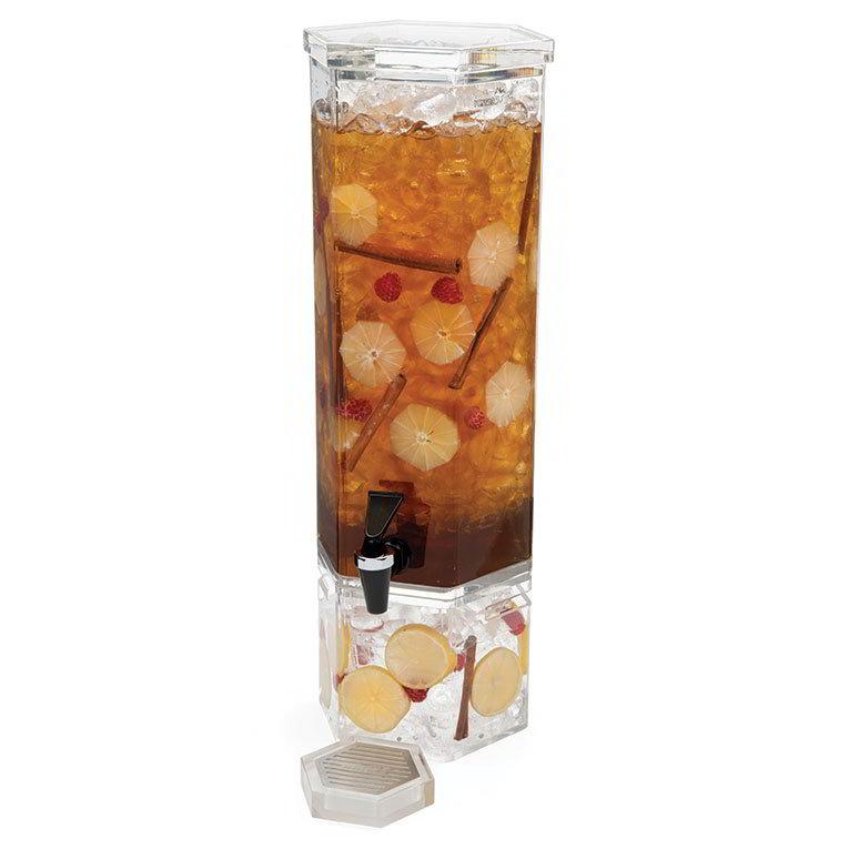 Rosseto LD105 1-1/2-gal Beverage Dispenser - Acrylic Base