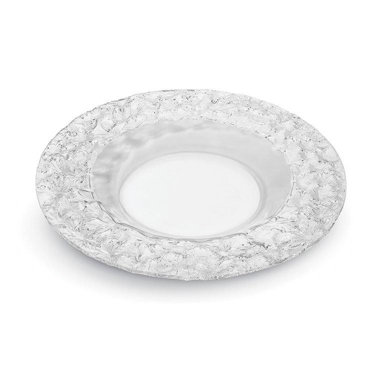 "Rosseto PPC12C 12"" Round Acrylic Platter - Clear"