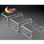 Rosseto RDC107 Multi-Level Riser Set - Acrylic, Clear