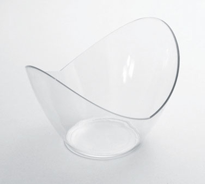 Rosseto Serving Solutions SC1972 3-oz Simply Disposable Mini Dish - Clear