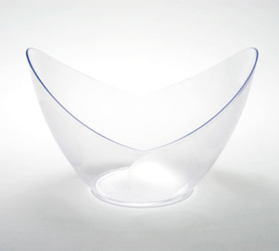 Rosseto Serving Solutions GRAC0558 6-oz Disposable Mini Dish/Bowl - Clear
