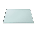 "Rosseto Serving Solutions GTS14 14"" Glass Square Display Shelf/Tray - Clear"