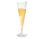 Rosseto Serving Solutions L50300 4-oz Liteware Champagne Flute - Polystyrene, Clear