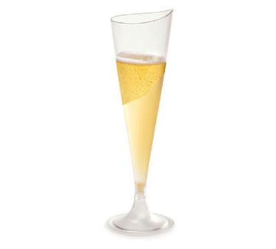 Rosseto Serving Solutions L50300 4-oz Liteware Champagne Flute - Polystyrene, Clear