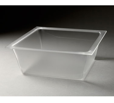 "Rosseto Serving Solutions LDT1401 13-3/10"" Square Flat Serving Tray - Frosted Acrylic"