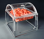 Rosseto Serving Solutions LLP2913 Large Mod Pod Container Lid - Acrylic, Clear