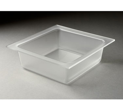 """Rosseto Serving Solutions LST1395 13-3/10"""" Square Serving Tray - Frosted Acrylic"""