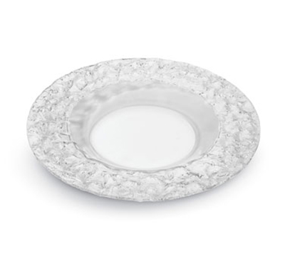 """Rosseto Serving Solutions PPC8C 8"""" Round Acrylic Platter - Clear"""