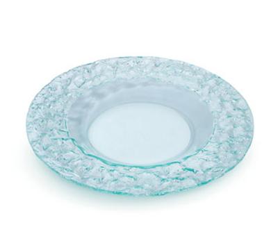 "Rosseto Serving Solutions PPC8G 8"" Round Acrylic Platter - Green"