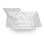 "Rosseto Serving Solutions PPS8C 8"" Square Acrylic Serving Dish - Clear"