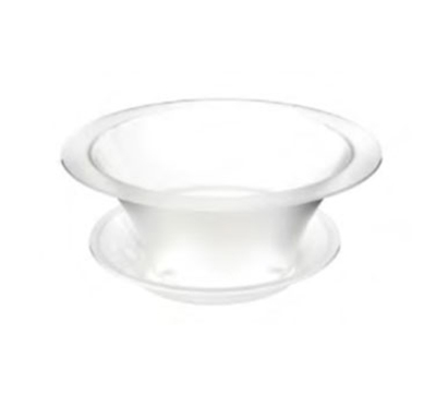"Rosseto Serving Solutions SA112 17"" Round Ice Bath - Frosted Acrylic"