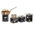 Rosseto Serving Solutions SK019 14-Piece Square Warmer Kit - Black